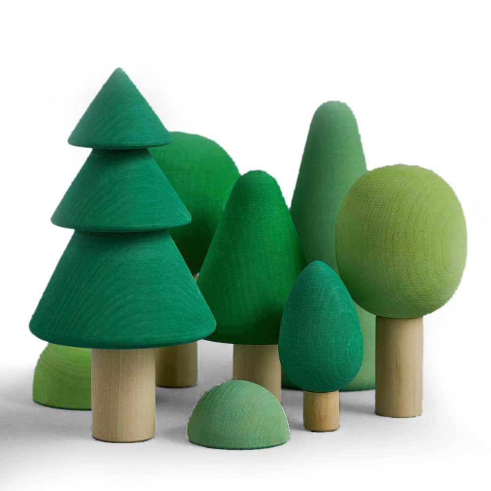 Holzspielzeug Wald von Raduga Grez